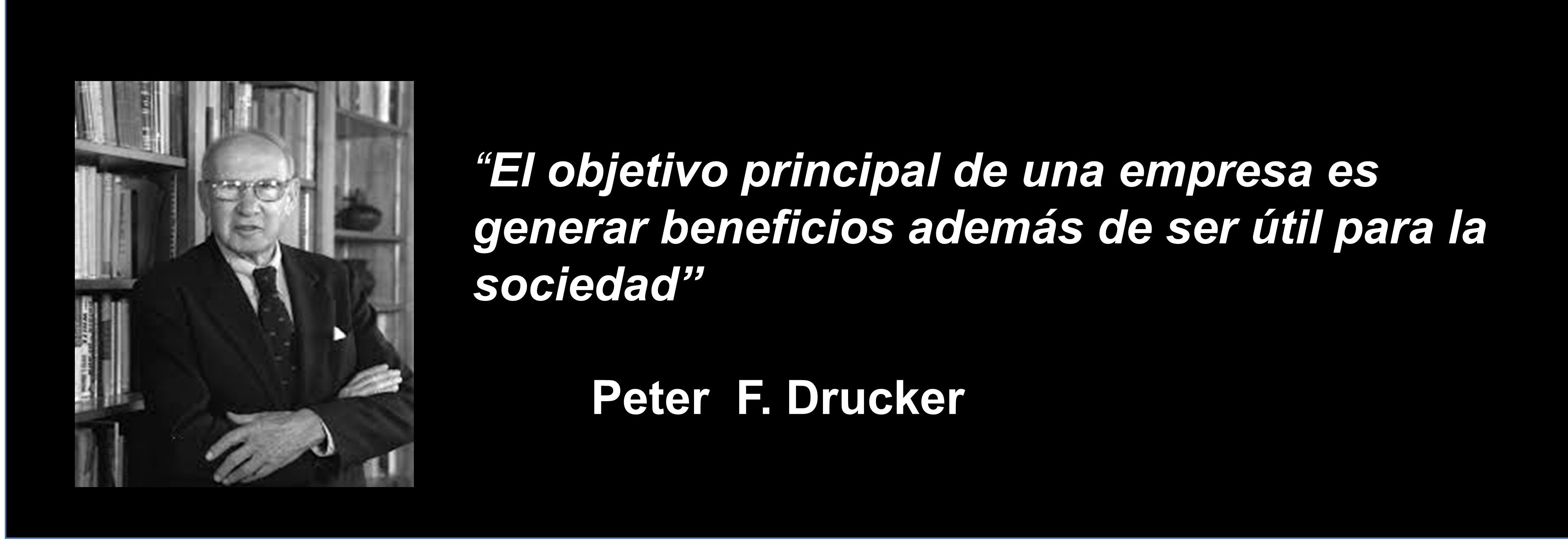 Gestion del margen. Drucker